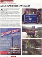 Journal Plus, May 2014, Avila Beach Bird Sanctuary article, page 22