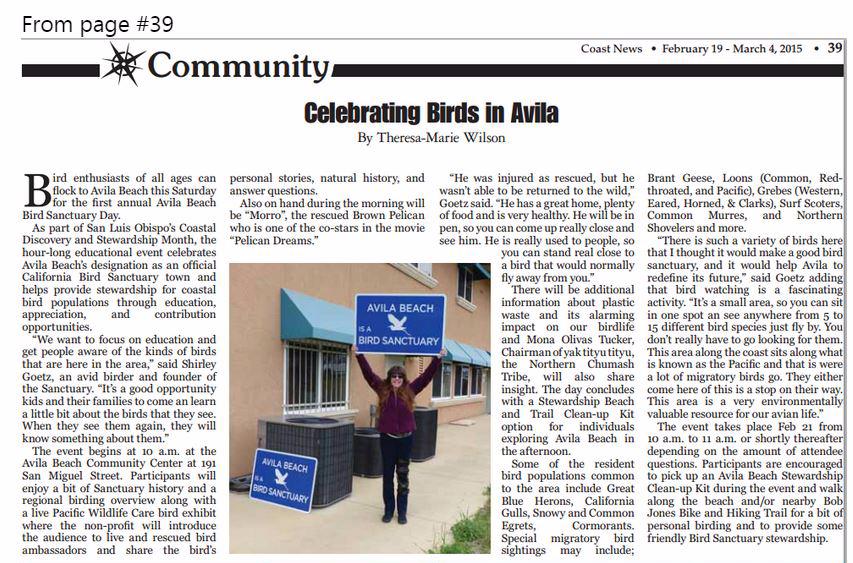 Coast News February 19 - March  4, 2015